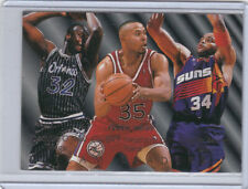 1994-95 Fleer Team Leaders #7 Shaquille O'Neal Barkley Weatherspoon Insert READ!