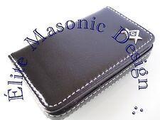 Masonic Master Mason Business Card or Dues Card Holder. B/S