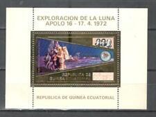 T6048 - GUINEA EQUATORIALE - FOGLIETTO MISSIONE APOLLO ** - VEDI FOTO