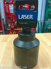 "Laser 0953 Deep Air Impact Socket 46mm 1 13/16"" 1/2"" Drive"