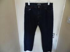 Gents Dark Blue straight leg jeans from Very size 36 Reg
