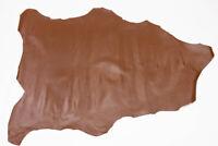 Goatskin Skiver Leather Chestnut 7 - 7.5 Sq Ft, 0.5-0.7 mm bookbinding