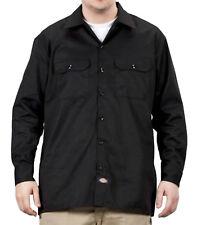 Dickies Long Sleeve Work Shirt - Black Dickies574 Classic Mens Work Shirt