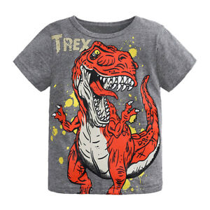 Kids Dinosaur T-Shirt Fast delivery Age 2-3 T-Rex