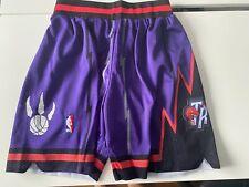 NBA Toronto Raptors Vintage Swimgman Shorts MENS SMALL