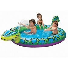 BANZAI SPRAY 'N SPLASH WATER SPRAYING SILLY SNAKE INFLATABLE POOL  NEW IN BOX!