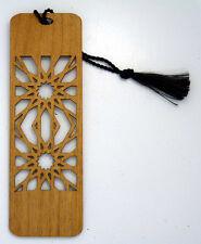 Custom Engraved Wooden Bookmark - Sunburst Cutout  (FREE SHIPPING)