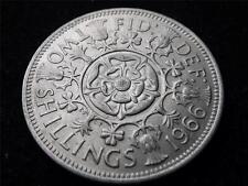 1966 ELIZABETH II FLORIN / TWO SHILLINGS COIN UNC.