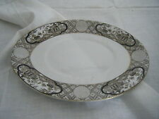C4 Pottery Royal Worcester Victorian G1880 Serving Plate 23x17cm 1B6C