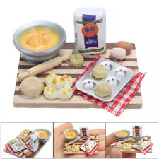 Dollhouse 1:12 Scale Miniature Kitchen Cooking Dish Furniture Kids Toy