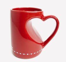 42e1590c48c Krispy Kreme Donuts Coffee Mug Red Heart Handle Valentines Day Love