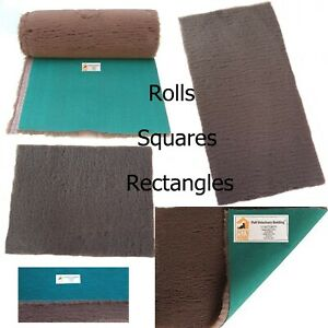 PnH Veterinary Bedding ® - BROWN - Green Back Vet Bedding - MANY SIZES AVAILABLE