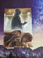 Topps Star Wars Artist Sketch Autograph Auto Card Darth Vader Awesome