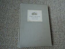 Cable Car Days In San Francisco, Edgar M. Kahn, Signed 1st Ed 1940, Illustrated