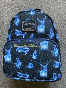 Loungefly Harry Potter Expecto Patronium AOP Mini Backpack Bag