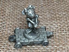 Pewter Disney Express Train Minnie Mouse Miniature