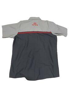 Toyota Auto Technician Mechanic Shirts Red Kap Tech Work Shirt Used Uniform