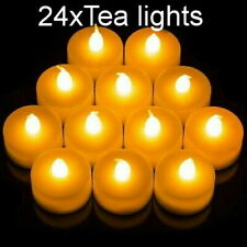 FLAMELESS LED CANDLE BATTERY OPERATED TEA LIGHT FLICKERING CHRISTMAS CELEBRATION