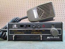 Vintage Midland International Citizens Band CB Radio Transceiver Marine Semi RV