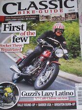Classic Bike Guide 02/10 BSA Rocket 3, Guzzi V7 Classic, Enfield Constellation