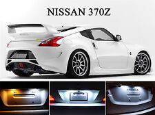 Xenon White License Plate / Tag 168 LED light bulbs for Nissan 370Z  (2 Pcs)
