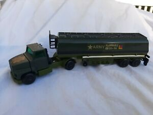 Army 1973 Matchbox Lesney Super Kings K 115 Ford Tractor and Articulated Tanker
