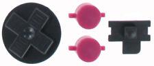Knopf Knöpfe Button Drücker Pads Tasten für Gameboy Classic GB DMG Schwarz Lila