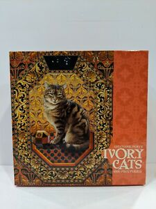 LESLEY ANNE IVORY 1000 PIECE IVORY CATS JIGSAW PUZZLE Octopussy