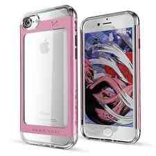 Ghostek Cloak 2 Slim Clear Back TPU + Aluminum Case Cover For Apple iPhone 7
