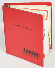 BEATTIE COLEMAN FLASH AND CAMERA PARTS MANUALS IN BINDER
