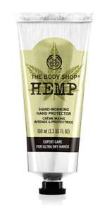 The Body Shop Hemp Hard Working Hand Protector 100ml + FREE P&P