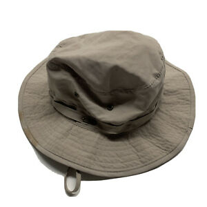 Stetson No Fly Zone Nylon Boonie Bucket Hat Sun Guard Sz XL Unisex Mens Womens
