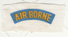 Wartime Printed Special Forces Airborne Tab
