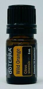 doTERRA Wild Orange 5ml Essential Oil Supplement - New/Sealed! Exp: 2025