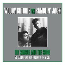 Woody Guthrie & Ramblin' Jack - The Singer And The Song 2CD NEW/SEALED
