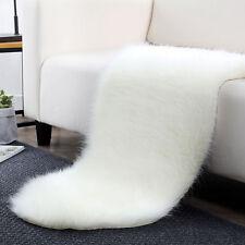Soft Long Faux Fur Sheepskin Rug Floor Mat Thick Chair Cover Blanket 60*90 cm