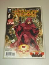 TRINITY OF SIN PANDORA #1 DC COMICS NEW 52 AUGUST 2013 NM (9.4)