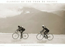 Tour de France LEGENDARY 1949 TOUR Coppi vs Bartali Premium Cycling POSTER Print