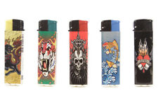 5 X  Winlite Electronic Lighters - TATTOO Design - Free Shipping