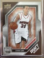 ROOKIE Steph Curry RARE (#34) Draft Edition (Upper Deck)