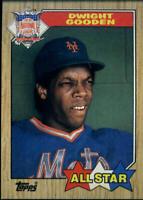1987 Topps Baseball Card Singles Rookie MLB You Pick Buy 2 Get 1 FREE (437-792)