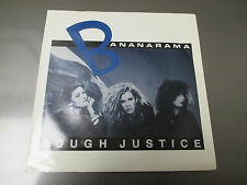 1984 BANANARAMA Rough Justice UK 45 London NANA 7 EX/VG+ Pic Sleeve