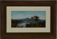 Framed Mid 20th Century Oil - The Crest of the Falls