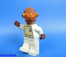 Lego ® Star wars figura/Admiral Akbar en blanco uniforme