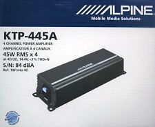 ALPINE KTP-445A Compact upgrade amplifier for your Alpine receiver BRANDNEW!