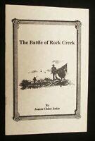 Civil War in Missouri The Battle of Rock Creek Jackson County Eakin 1995