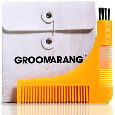 Beard Styling and Shaping Template Comb Tool, Groomarang,