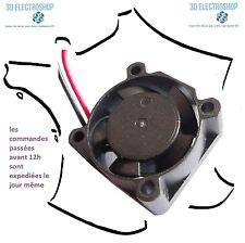 ventilateur fan brushless 25x25x10 12v dc 0.08A 3d print cnc