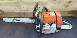 "Stihl 034 AV 16"" Petrol Chainsaw. Good Working Order. Free Postage."