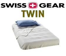 Swiss Gear Twin Air Mattress Sheet Set / Inflating Bed | Fitted & Flat Sheets